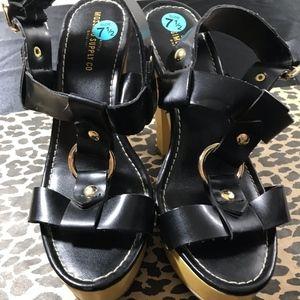 Mossimo Supply Co Black Heels